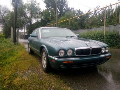 Jaguar XJ8 без пробега по КЗ